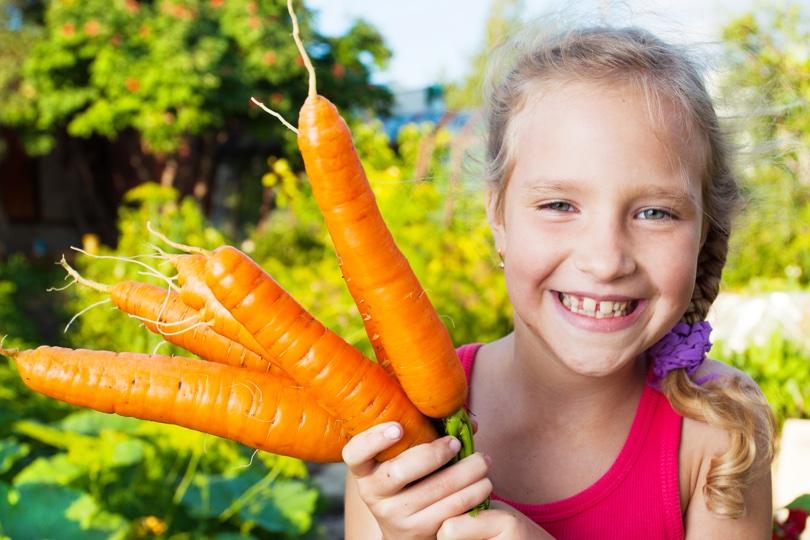 Dziecko nie je warzyw