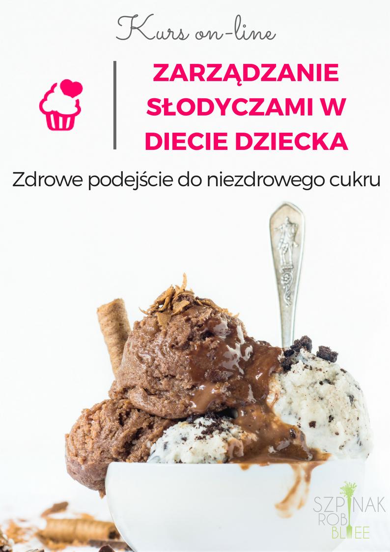 Zarządzanie słodyczami w diecie dziecka - kurs on-line