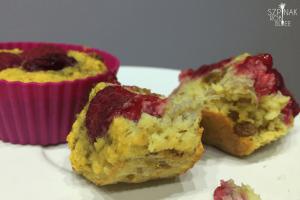 Muffinki z płatków jaglanych