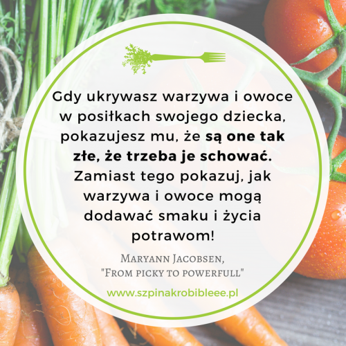 jak przemycić warzywa