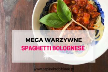 warzywny sos bolognese
