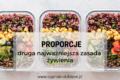 Proporcje – druga najważniejsza zasada żywienia