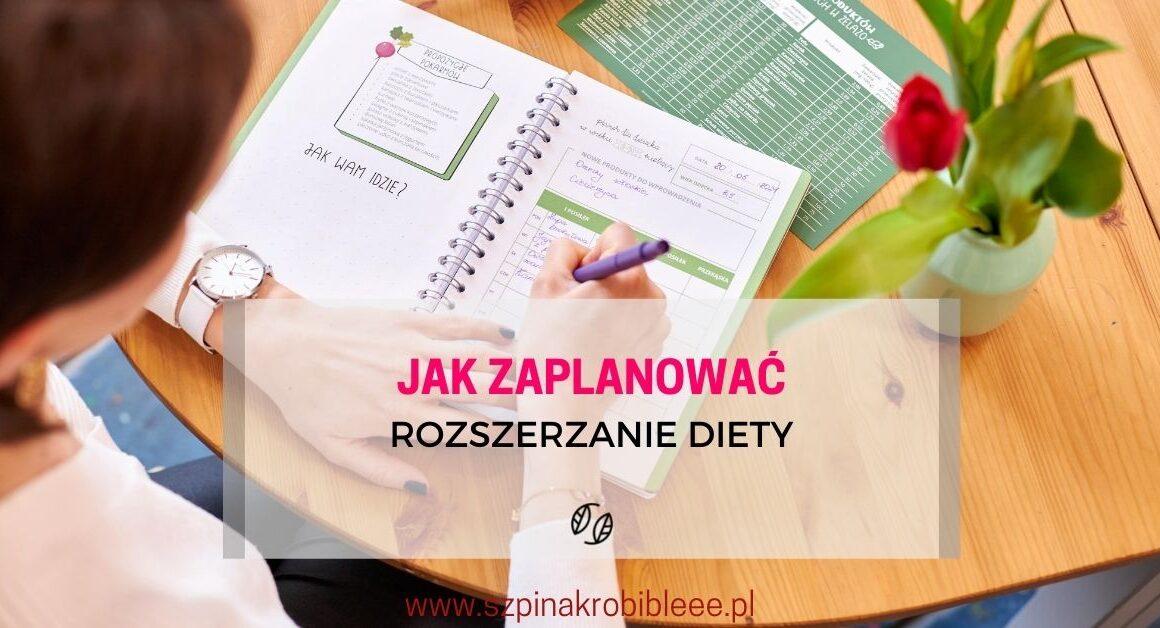 planowanie rozszerzania diety